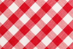 Red Table Cloth royalty free stock photography