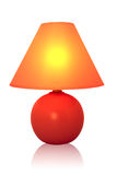Red Table lamp Stock Photos