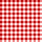 Red tablecloth background endless. Diamond template Stock Photo