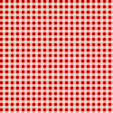 Red tablecloth. Background with vignette Stock Photo