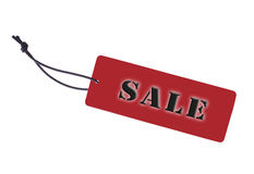 Red Tag Royalty Free Stock Photography