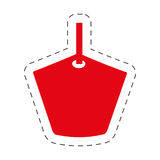 Red tag price offer promotion Stock Image