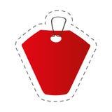 Red tag price retail icon Stock Image