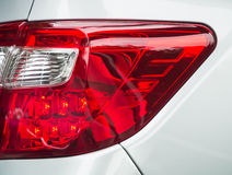 Red taillight Stock Photo