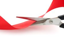 Red Tape Royalty Free Stock Image