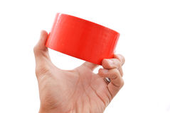Red Tape Stock Image