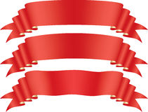 Red tape Stock Images