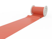 Red tape, 3D Royalty Free Stock Photos