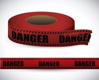 Red tape design. Red tape design over white background, vector illustration Stock Photo