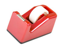 Red Tape Dispenser Royalty Free Stock Photo