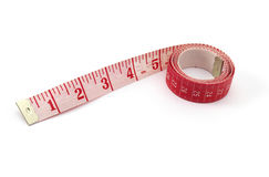 Red Tape Measure Royalty Free Stock Photography