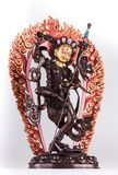 Red Tara in Vajrayogini`s shape a knife cutting attachments. Stock Photography