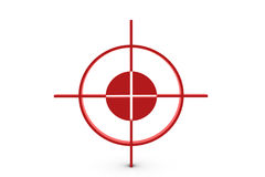 Red target Royalty Free Stock Photography