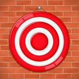 Red Target Stock Photo