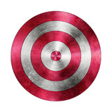 Red Target Aim on the White Background Royalty Free Stock Photography