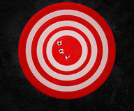 Red Target Background Stock Image