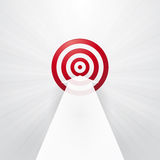 Red target Stock Images