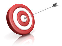 Red Target Stock Image