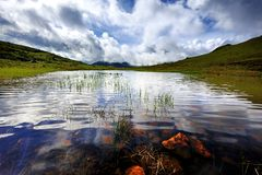 Red Tarn Royalty Free Stock Photography