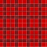 Red tartan. Seamless pattern. Royalty Free Stock Image