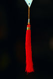 Red tassel Stock Photography