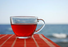 The red tea Stock Image