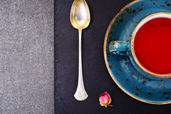 Red Tea in Beautiful Cup Royalty Free Stock Image