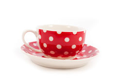 Red tea cup Royalty Free Stock Photography