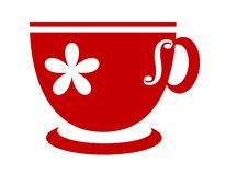 Red tea cup Royalty Free Stock Photo