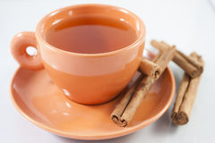 Red tea cup Royalty Free Stock Photos
