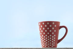 Red tea cup Royalty Free Stock Images