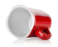 Red Teacup Royalty Free Stock Photography
