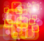 Red technological background Stock Images