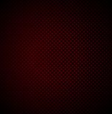 Red technology background with seamless perforated Stock Image