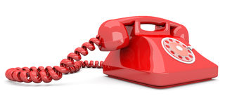 Red Telephone Stock Images