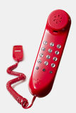 Red telephone Royalty Free Stock Photography