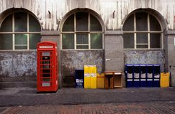 Red telephone booth, London Stock Photos