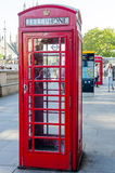 The red Telephone Booth, London, UK. Stock Photos