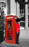 Red Telephone Booth Royalty Free Stock Photos