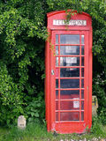 Red Telephone Box Stock Image