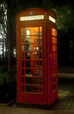 Red Telephone Box - London Stock Photography