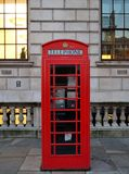 Red telephone box. From London Royalty Free Stock Photo