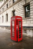London Red Telephone Booth. London Attraction-2 royalty free stock photography