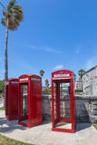 Red Telephone Box Stock Photography