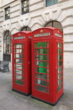 Red Telephone Boxes - London Stock Photography