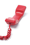 Red Telephone Handset Royalty Free Stock Images