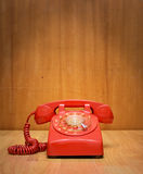Red telephone Stock Photos