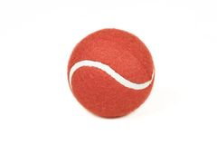 Red Tennis Ball Royalty Free Stock Photography