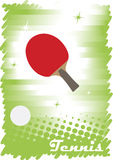 Red tennis court.Abstract vertical banner Stock Photo