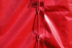 Red tent tarpaulin Royalty Free Stock Image